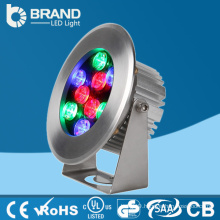Underwater IP68 Waterproof RGB LED Surface Mounted Pool Light