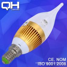 3W Led Candle Bulb/Candle Led/Candle Led Light CE Standard