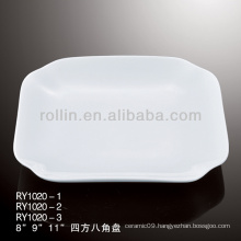 best-selling chinese white ceramic plate, dinner plate