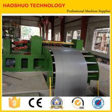 Linha de corte de aço silício para laminação de transformadores
