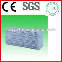 Toallitas industriales libres de la pelusa de Spunlace Toallas no tejidas del poliéster de la celulosa del rollo