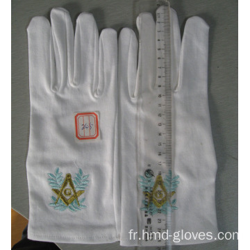 Jewelers Cotton White Inspections Gants