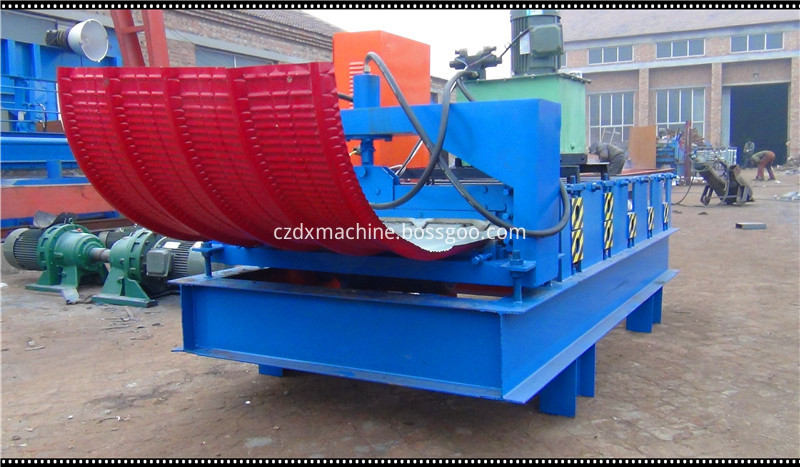 curved roofing sheet roll forming machine05