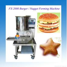 Nugget-Formungsmaschine, Patty-Formungsmaschine, Nugget, das Maschine Fx-2000 herstellt