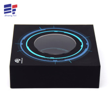 Top and bottom electronic art paper gift box