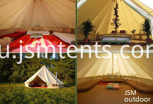 Breathable Comfortable Canvas Tents