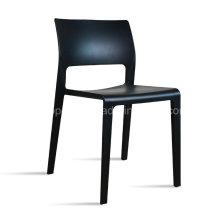 Chaise de restaurant en plastique moderne à empilage en plastique (SP-UC512)