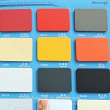 Alunewall diferentes tipos de panel compuesto de aluminio incombustible b1 fabricante chino