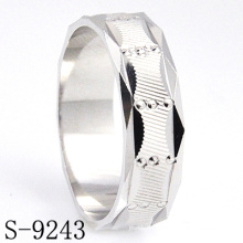 Hot-Selling 925 Silverjewelry Resin Men′s Ring Without CZ