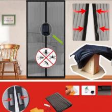 Cortina magnética da porta da tela da fibra de vidro