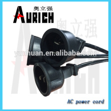 UL Standrad популярные кабели ПВХ кабель питания 125V