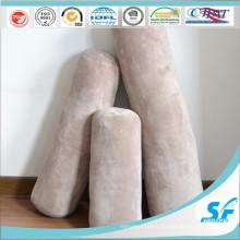 Housse de coussin de colonne de molleton de corail