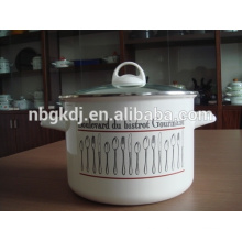 enamel big stock pot of customizing