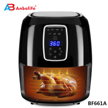 6l 7l 10l  industrial  multi accessories restaurant commercial accessories digital air fryer oven industrial air fryer
