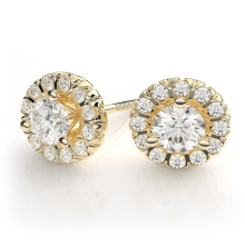 Pendentif en or 9 carats plaqué or 925 pour mariage