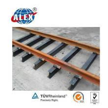 Railroad Steel Sleeper für Uic50 / 54/60 Schienen