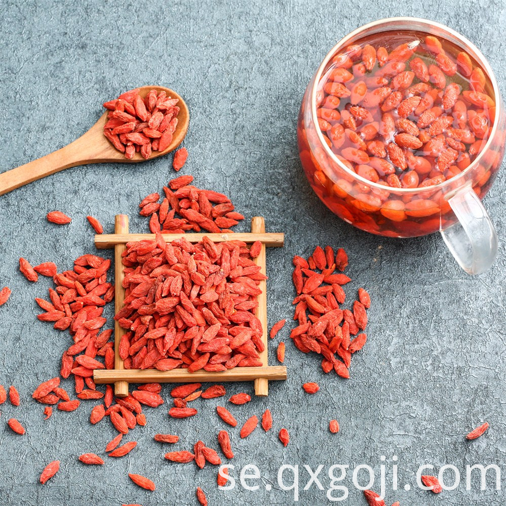 Certified Dried Goji Berry
