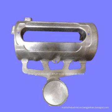 Fundición a la medida de aluminio para la tapa superior del cortacésped
