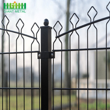 Residential+Hot-Dipped+Galvanized+Prestige+Fence+for+Sale