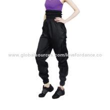 High-waist Slim Wear Pants, Made of Polyester