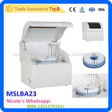 Equipo de laboratorio analizador bioquímico automático completo MSLAB23-i