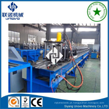 Máquina de formação de rolo de cremalheira de metal de rack de armazenamento de armazém