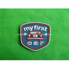Silicone Label Manufacturer OEM Custom Design Multi-Colored 3D Embossed PVC Rubber