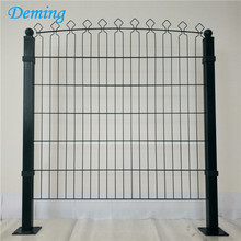Factory+PVC+Coated+Double+Horizontal+Decofor+Panel+Fence