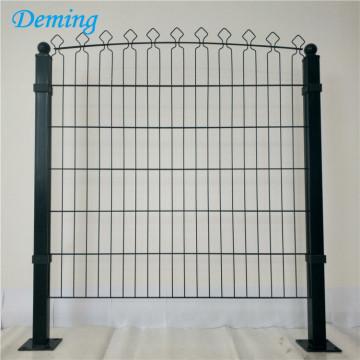 Factory PVC Coated Double Horizontal Decofor Panel Fence