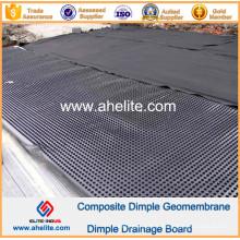 Géomembrane de Dimple de HDPE pour le génie municipal