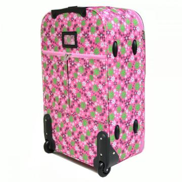 Cabin Size Printing EVA Trolley Luggage 2 Wheels
