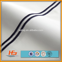 barato folhas de cama egípcias lisas do algodão / mão dos bedsheets bordadas para venda