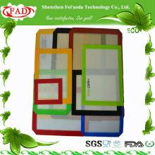 FDA прямоугольник антипригарный силиконовый коврик для выпечки комплект
