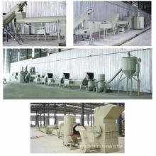 Стабильная производительность ПЭТ хлопья стиральная линия