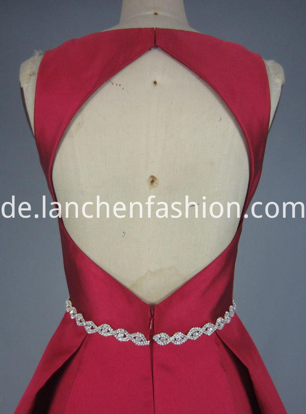 Red Evening Dress Long