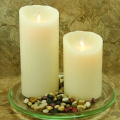 discount electric liown moving flame candles with timer