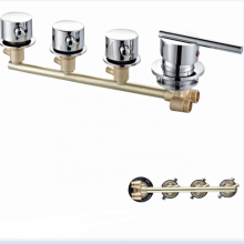 3-Function Shower Room Wall-mounted water Mixer valve G1/2