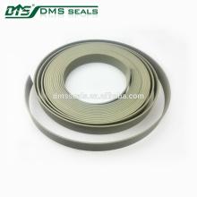 ptfe guide soft tape plástico sellado tira retén hidráulico