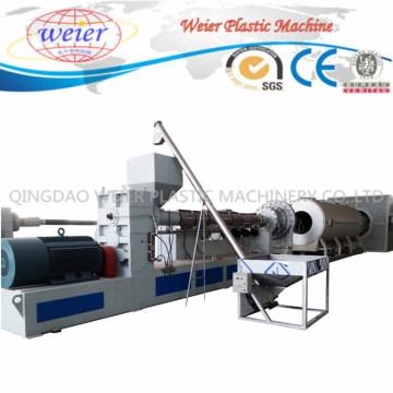 Línea de producción de máquina de extrusión de plástico para tubería de aislamiento térmico