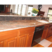 Polished Marble Table Top for Kitchen Dining