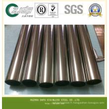 304 tube en acier inoxydable 316 en acier inoxydable en acier inoxydable