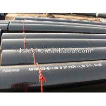 труба ASTM a53/труба углерода a106/гр.б план-графика 40 безшовная труба углерода стальная