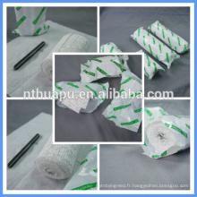 Bandage jetable médical de plâtre utilisé pour la fracture