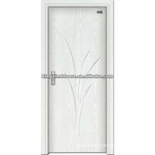 Simple Design PVC Door Wood Door With PVC sheet Made In China