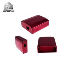 boîte en aluminium de boîtier de tableau de distribution d'extrusion en aluminium pour la coutume électronique