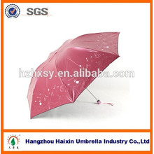 New! Glue-Coated UV Protection Mini Umbrella With Embroidery