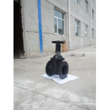 Cast Iron Flanged Manual Double Disc Gate Valve