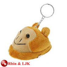 Meet EN71 and ASTM standard ICTI plush toy factory stuffed monkey keychain
