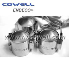 Bague de chauffage cylindrique électrique de précision