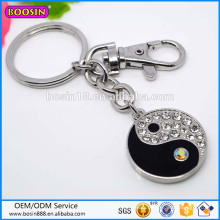 Guangzhou Factory Price High Quality Yingyang Pendant Keychain # 16044